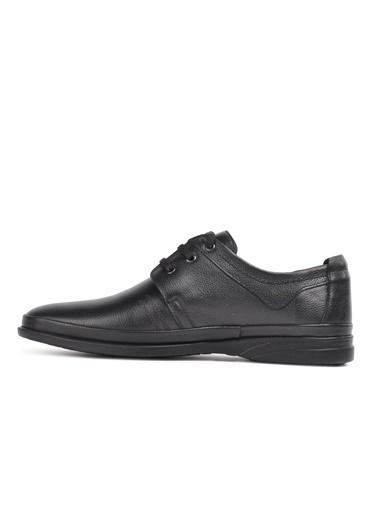 Ayakmod 2031 Hakiki Deri Siyah Erkek Günlük Ayakkabı Siyah